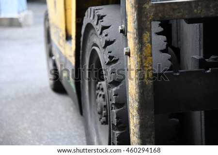 Tire of forklift