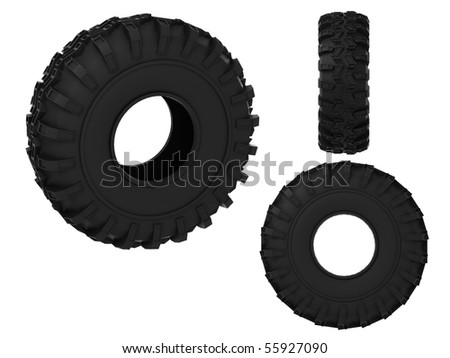 Big tires stock images royalty free images vectors for Big tractor tires for free