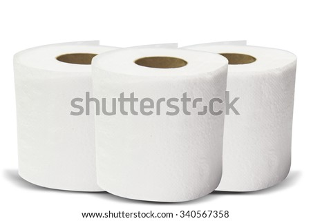 tissue roll  - stock photo