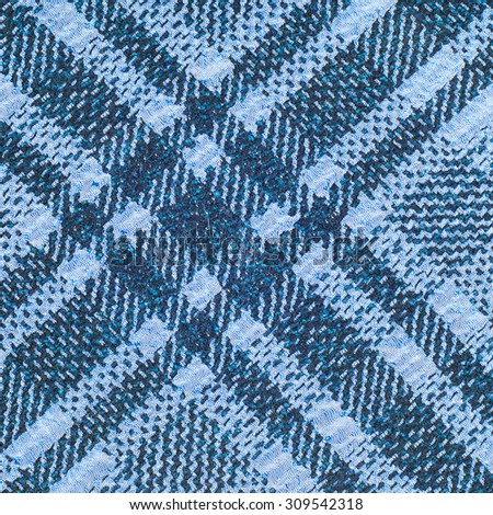 tissue, textile, cloth, fabric, material, texture. Textile  blue cell.  cloth, typically produced by weaving or knitting textile fibers.