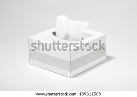 Tissues Box - stock photo