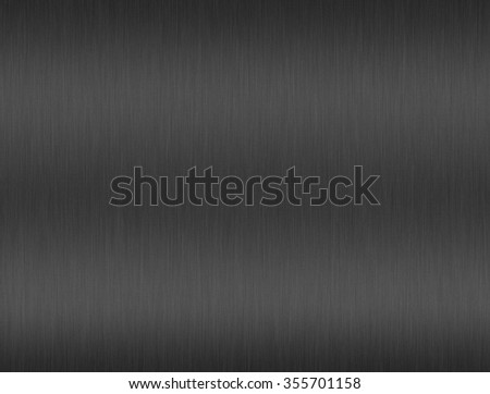 Titanium aluminium texture with reflection for background - stock photo