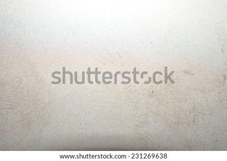 titanium sheet scrap - stock photo