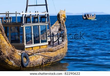 Titicaca lake, Bolivia - stock photo