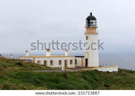 Tiumpan Head Lighthouse, Hebrides, Scotland