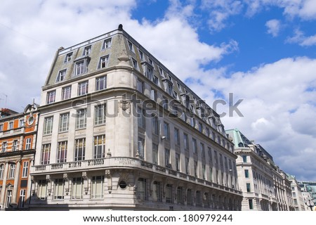To-Let, Flat for rent in western european town - stock photo