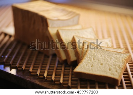 Toast Bread, Bakery Products, Pastry and Bakery