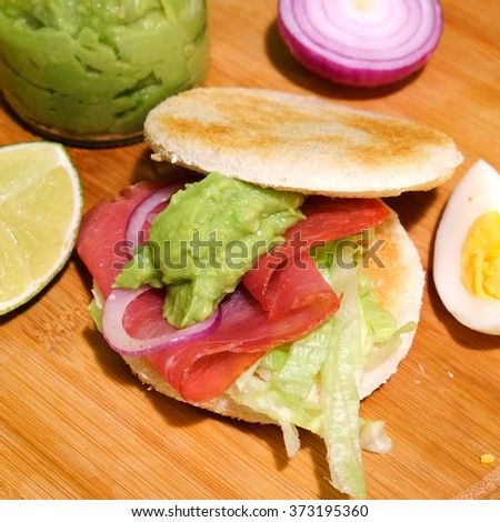 Canapes sandwiches stock photos images pictures for Canape sandwiches