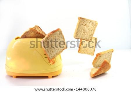 Toaster - stock photo