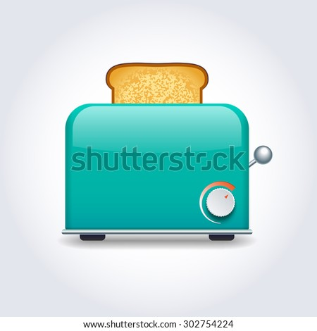 Toaster  - stock photo