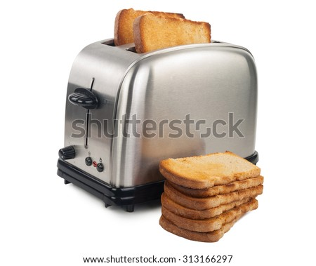 Toaster with bread