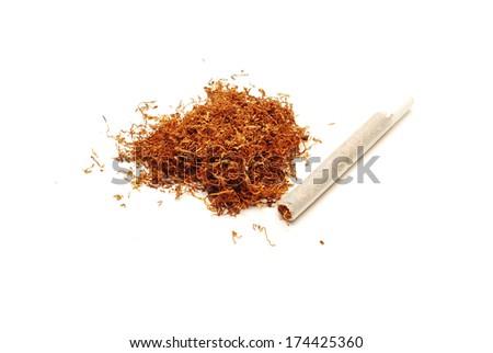 tobacco and cigar - stock photo