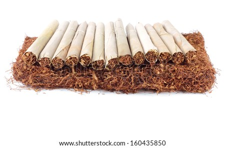 how to cut tobacco leaves for cigarettes