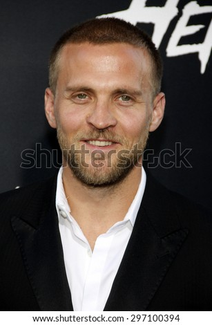 "Tobias Santelmann at the Los Angeles premiere of ""Hercules"" held at the TCL Chinese Theatre in Los Angeles on July 23, 2014 in Los Angeles, California."