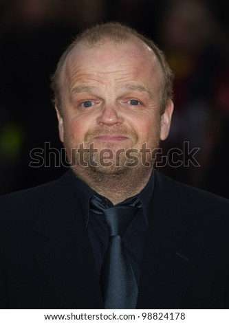 Toby Jones arriving at The Hunger Games Premiere, at the 02 Arena, London. 14/03/2012 Picture by: Simon Burchell / Featureflash - stock photo