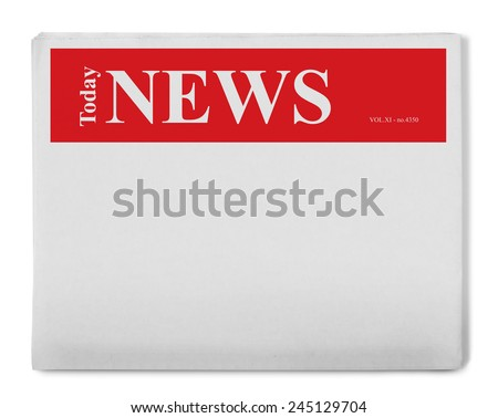 Today news - stock photo