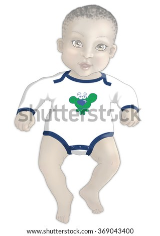 Toddler sketch clothing