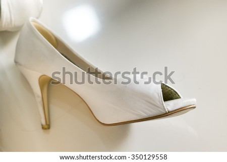 Toe shoes - stock photo
