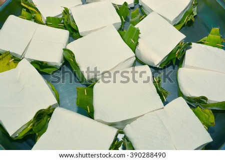 Tofu soy, tofu, food - stock photo