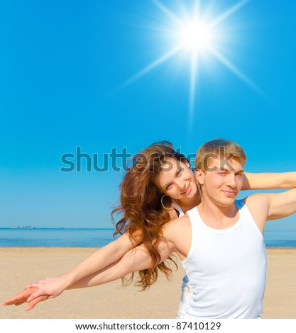 Together Couple - stock photo