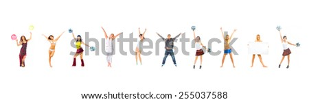 Together we'll Win Sporty Concept  - stock photo