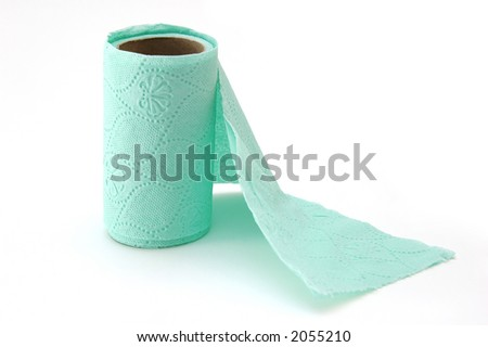Toiled paper in roll