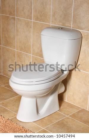 toilet - stock photo