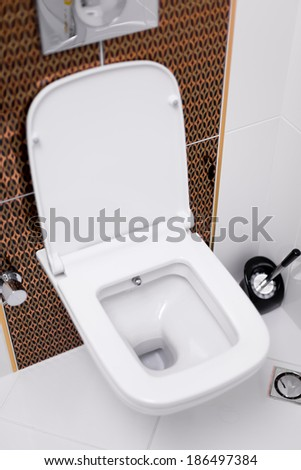 Toilet - stock photo