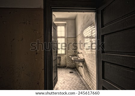 toilets - stock photo