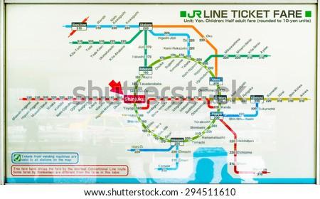 TOKYO JAPAN JANUARY 31 2015 Tokyo Metro Stock Photo (Edit Now ... on tokyo map pdf, japan metro map, japan bullet train map, best tokyo map, kyoto subway map, shinjuku tokyo map, tokyo train map, kyoto train station map, tokyo transit map, smt iv tokyo map, tokyo hr map, tokyo map english, shinkansen map, tokyo public transportation map, tokyo district map, tokyo jr line, honolulu bus route map, japan rail map, tokyo jr train, tokyo subway map,