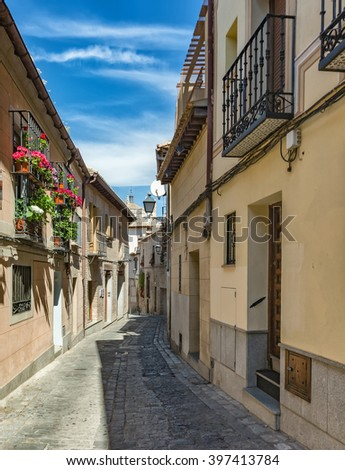 Toledo is a municipality located in central Spain, 70 km south of Madrid.