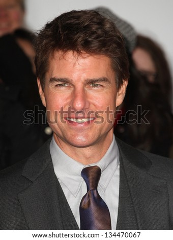 Tom Cruise arriving for The Oblivion UK Premiere, at the BFI Imax, London. 04/04/2013 Picture by: Alexandra Glen