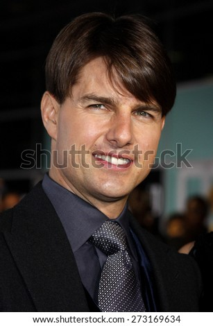 "Tom Cruise attends the AFI Fest Opening Night Gala Premiere of ""Lions for Lambs"" held at the ArcLight Theater in Hollywood, California, United States on November 1, 2007. - stock photo"