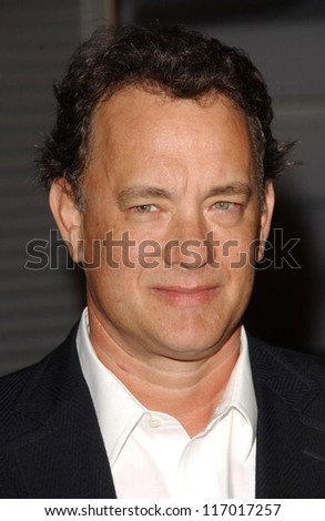 "Tom Hanks at the Los Angeles premiere of ""Starter for Ten"". Arclight Theaters, Hollywood, CA. 02-06-07"