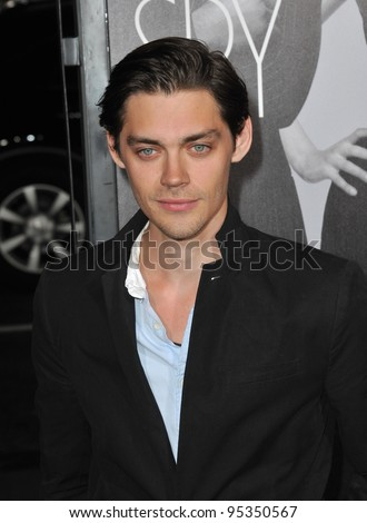 "Tom Payne at the Los Angeles premiere of ""This Means War"" at Grauman's Chinese Theatre, Hollywood. February 8, 2012  Los Angeles, CA Picture: Paul Smith / Featureflash"