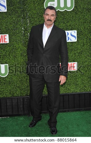 "Tom Selleck - star of ""Blue Bloods"" - at CBS TV Summer Press Tour Party in Beverly Hills.  July 28, 2010  Los Angeles, CA Picture: Paul Smith / Featureflash"