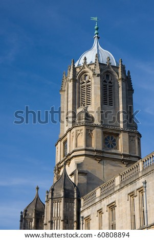 Tom Tower of Christ Church, Oxford - stock photo