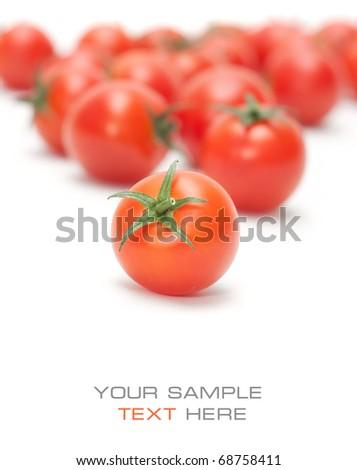 Tomatoes cherry - stock photo