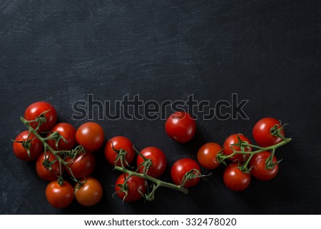 Tomatoes food cooking concept - stock photo