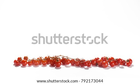 tomatoes withe background