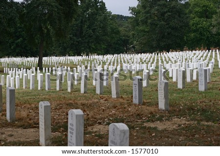 Tombs at Arlington National Cemetery