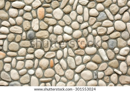 tone wall surface with cement - stock photo