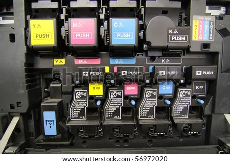 toners - stock photo