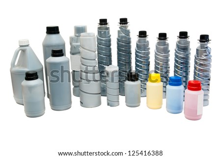 Toners for printers, scanners - stock photo