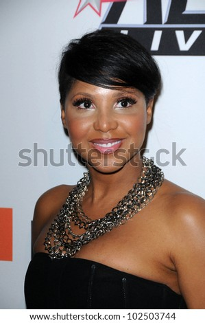 Toni Braxton at The Recording Academy and Clive Davis Present The 2010 Pre-Grammy Gala - Salute To Icons, Beverly Hilton Hotel, Beverly Hills, CA. 01-30-10 - stock photo