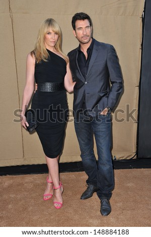Toni Collette & Dylan McDermott at the CBS 2013 Summer Stars Party in Beverly Hills. July 29, 2013  Los Angeles, CA