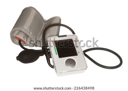 Tonometer, isolated on the white. - stock photo