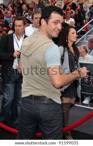 "Tony Dovolani at the ""Pirates of the Caribbean: On Stranger Tides"" World Premiere, Disneyland, Anaheim, CA. 05-07-11"