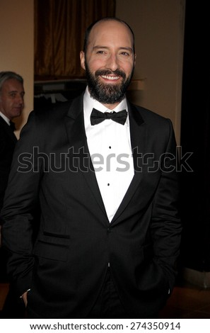 Tony Hale at the 19th Annual Art Directors Guild Excellence In Production Design Awards held at the Beverly Hilton Hotel in Beverly Hills on January 31, 2015. - stock photo