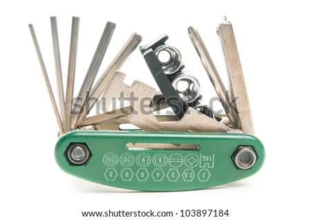 Tool for bicycle - stock photo
